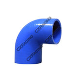 "CXRacing - UNIVERSAL 2""-1.875"" 90 DEG BLUE SILICON ELBOW HOSE REDUCER COUPLER FOR INTERCOOLER PIPE (SH200R1875-4BL-90-85)"