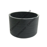 "CXRacing - BLACK SILICON HOSE 3"" STRAIGHT 2"" LONG FOR TURBO INTERCOOLER PIPE (SH300-3BK-51)"