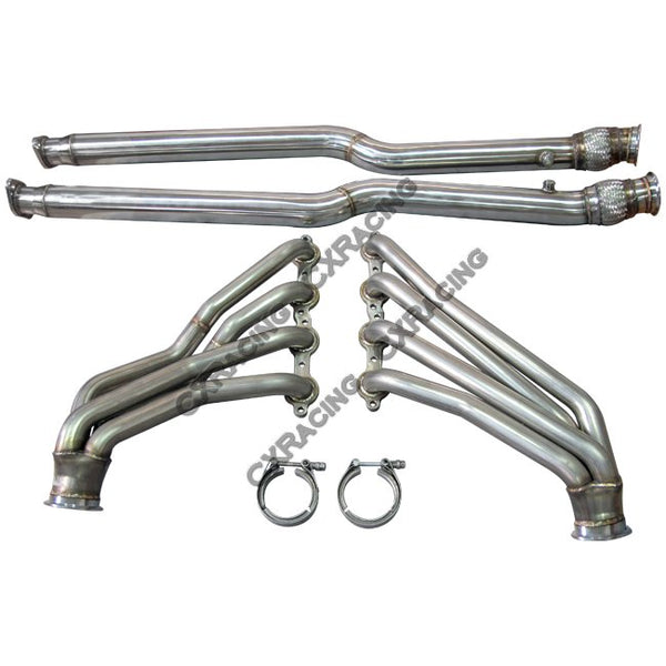 CXRacing - LS1 Header Headers Exhaust Pipe For Nissan 350Z with GM LS LSx Swap ( HD-DP-Y-LS-350Z)