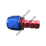 CXRacing - AN-8 8AN AN8 STRAIGHT PUSH ON LOCK SOCKETLESS FITTING (OF-AN8-S-PUSH)