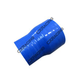 "CXRacing - 2""-1.6"" SILICON HOSE STRAIGHT REDUCER FOR INTERCOOLER RADIATOR PIPE 3"" LONG (SH200R160-3BL-76)"