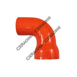 "CXRacing - UNIVERSAL 2"" TO 1.6"" 90 DEGREE RED SILICON ELBOW HOSE COUPLER (SH200R160-3R-90-65)"