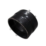 "CXRacing - 2.75"" - 2.63"" BLACK SILICON HOSE REDUCER COUPLER STRAIGHT INTERCOOLER PIPE (SH275R263-3BK-45)"