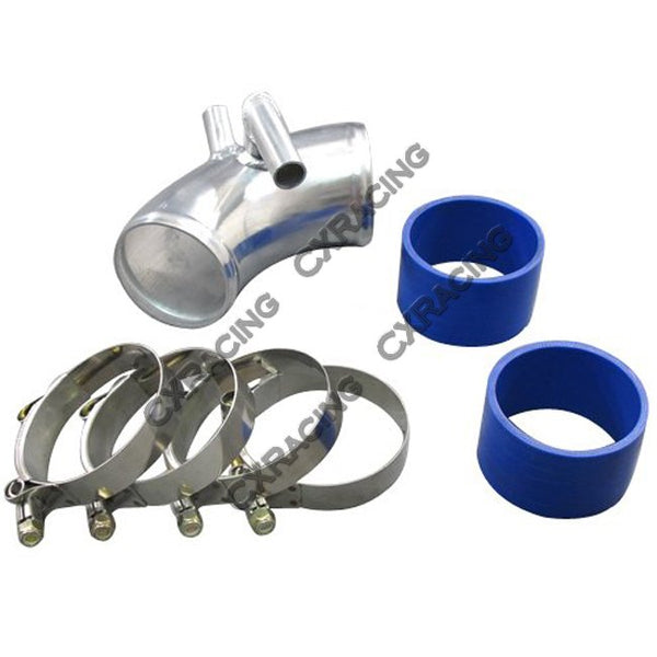 CXRacing - BMW E30 Air intake Throttle body pipe Turbo NA 2.75