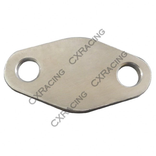 CXRacing - WATER HOT AIR HEATER BLOCK PLATE FOR 1JZ-GTE 2JZ-GTE ENGINE 1JZGTE 2JZGTE (PLATE-1JZ-WATERHEATER)