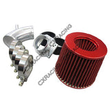 CXRacing - Cold Air Intake pipe kit + MAF Flange + Filter BMW E30 325E (KIT-BMW-E30-E-FIL)