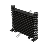 "CXRacing - ALUMINUM OIL COOLER 13 ROWS, NPT 1/2"" FITTING HI PERFORMANCE (OC-608-13-NPT1_2)"