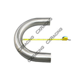 "CXRacing - 4"" 180 DEGREE U 304 STAINLESS MANDREL BEND PIPE TUBING TUBE  (SS-PIP-400-U-304)"