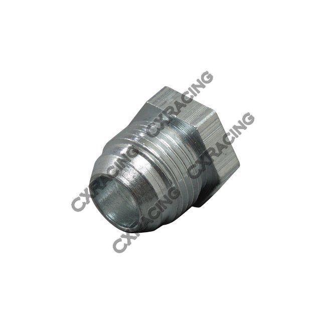 CXRacing - 10 AN -10 AN AN10 MALE STEEL WELD ON BUNG NUT FITTING OIL PAN TURBO RETURN LINE (WF-AN10-STEEL)