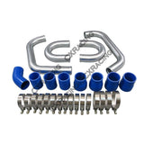 CXRacing - Twin Turbo Front Mount Intercooler Bolt On Kit For 90-96 Nissan 300ZX (KIT001-IC0020)