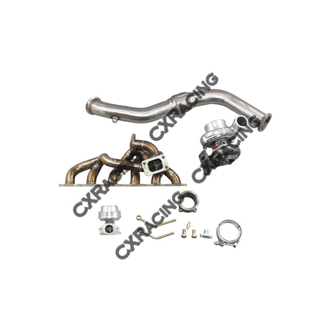 CXRacing - Turbo Intercooler Kit For Nissan Skyline GTR GT35 RB25DET/RB20DET Bolt on (TRB-KIT-RB-GT35-IC)