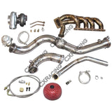 CXRacing - T4 GT35 Turbo Intercooler Piping Kit For HONDA S2000 F22 Thick Manifold Downpipe (TRB-KIT-GT35-F22-S2K-IC)