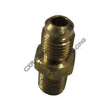 CXRacing - COPPER TURBO OIL FEED FITTING M12 X1.0 AN4 AN 4 4AN T25 T28 GT25 GT28  (OF-M12X1-AN4)