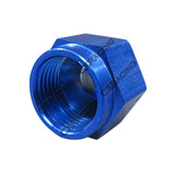 CXRacing - ANODIZED ALUMINUM FLARE OIL FITTING AN 10 CAP BLOCK OFF AN10 (OF-AN10-CAP)