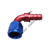 CXRacing - AN8 AN 8 8AN 90 DEGREE SWIVEL OIL/FUEL/GAS LINE HOSE END PUSH-ON MALE FITTING (OF-AN8-90-PUSH)