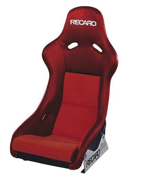 Recaro Pole Position N.G. Seat - Jersey Red/Red Suede