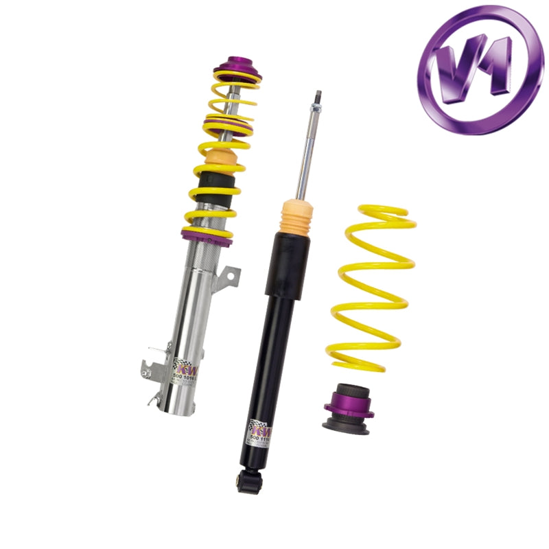 KW Coilover Kit Variant 1 - BMW 5 Series E39 Wagon 2WD, without rear automatic levelling, (10220038)