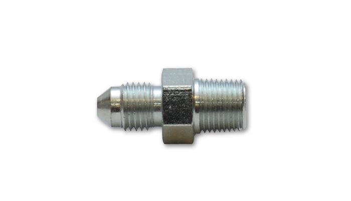 Vibrant Performance - Straight Adapter Fitting; Size: -3AN x 1/8