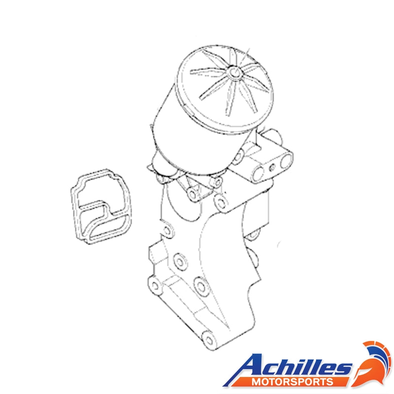 Achilles Motorsports - E36 Euro & S54 Oil Filter Housing with Oil Cooler Ports (11427839858)