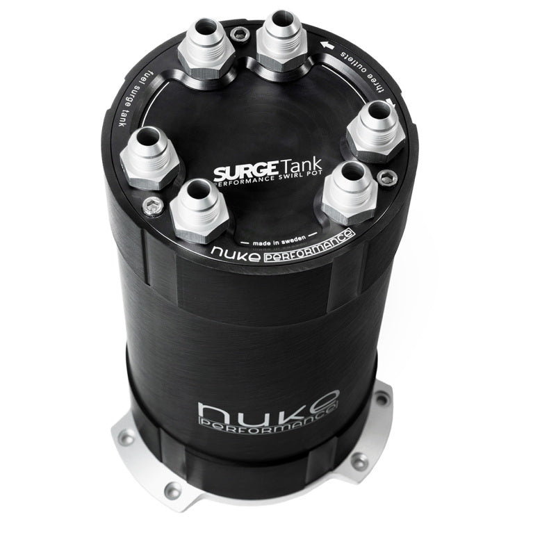 Nuke Performance - 2G Fuel Surge Tank 3.0 liter for up to three external fuel pumps