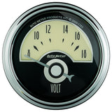 "AutoMeter - 2-1/16"" VOLTMETER, 8-18V, AIR-CORE, CRUISER AD (1191)"