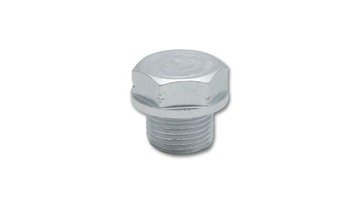 Vibrant Performance - Threaded Hex Bolt for Plugging O2 Sensor Bungs (Single Unit, Retail Pack)