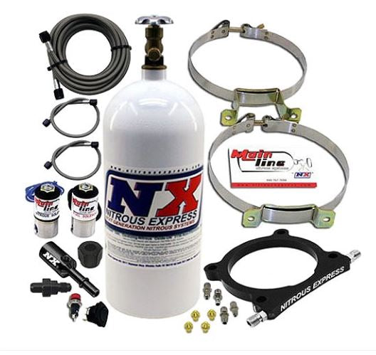 Nitrous Express - Mainline 5.0L Coyote Nitrous Plate System 2011-Up Mustang GT w/5.0L Coyote (ML3050)