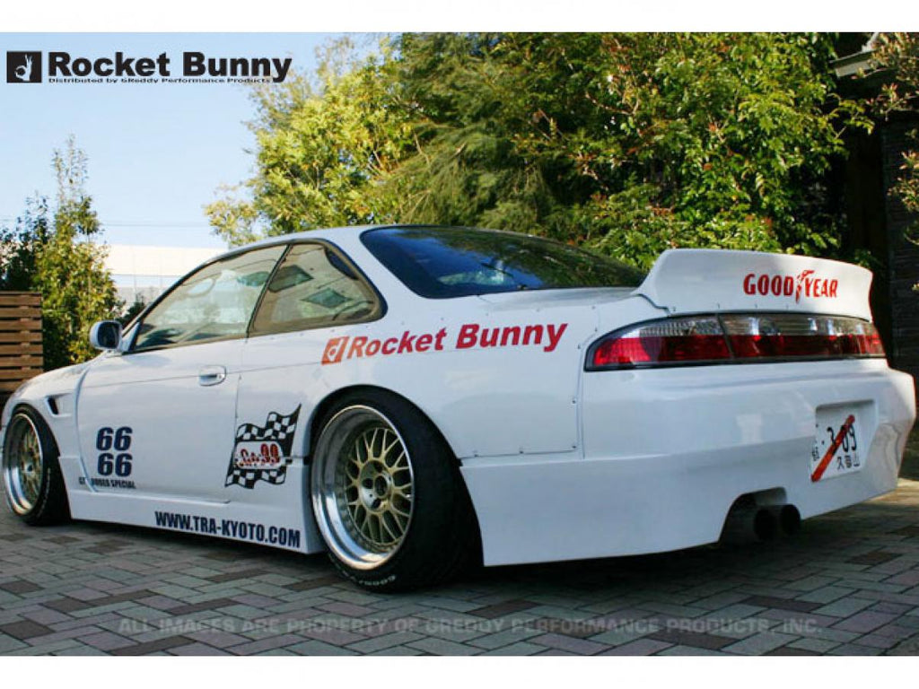 Rocket Bunny - V1 Ducktail Rear Wing - S14 240SX - (VDRWS58)