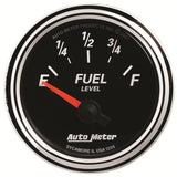 "AutoMeter - 2-1/16"" FUEL LEVEL, 240-33 Ω, AIR-CORE, SSE, DB II (1206)"