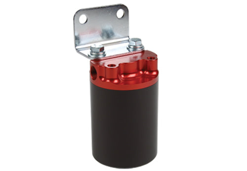 Aeromotive - 100 Micron, Red/Black Canister Fuel Filter (12319)