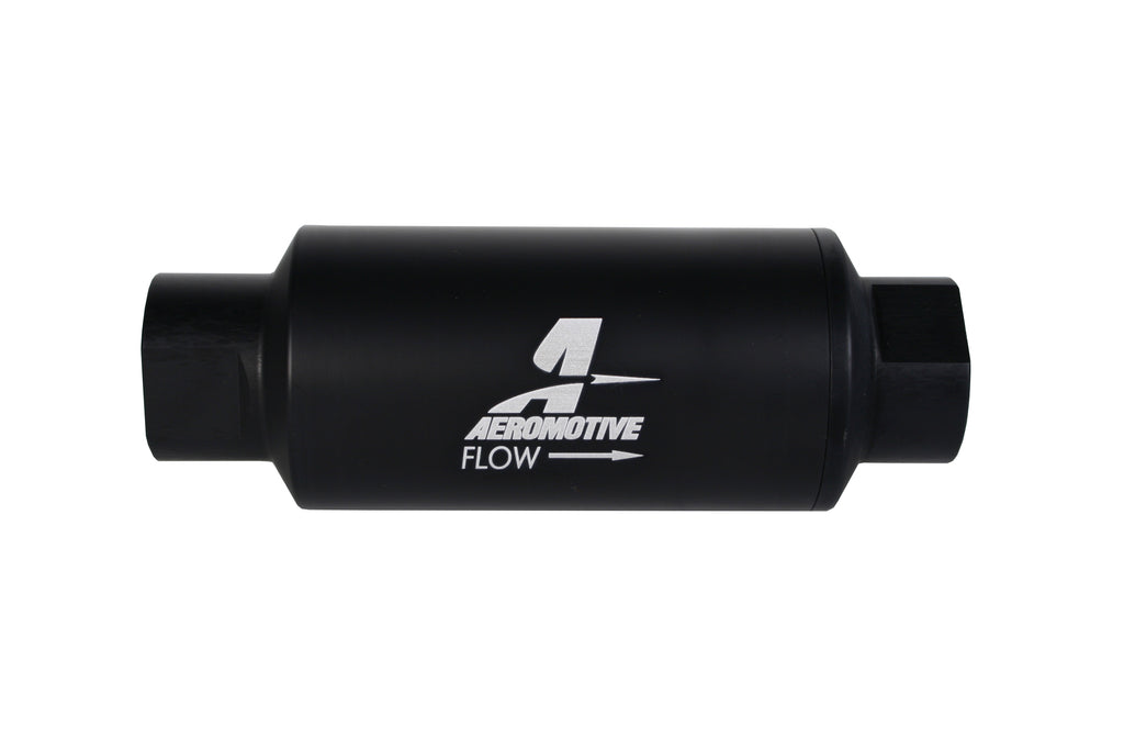 Aeromotive - 10m microglass, AN-10 Black (12346)