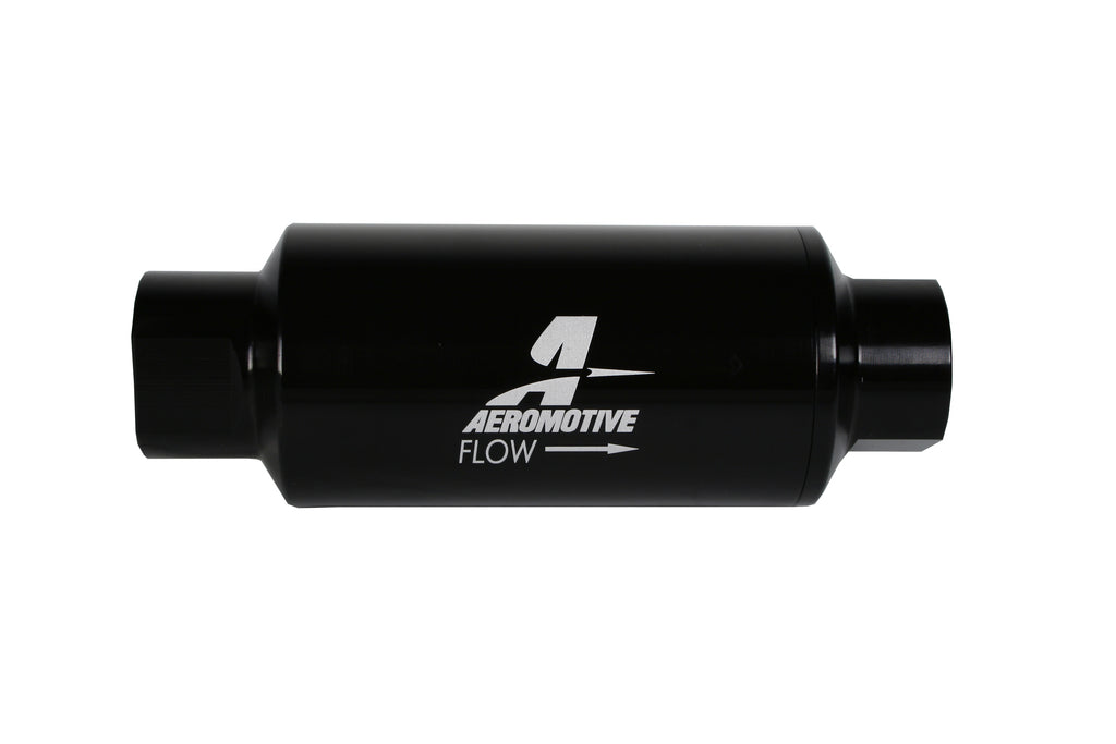 Aeromotive - 10-micron Microglass Element In-Line Filter with ORB-10 Ports (12350)