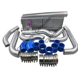 CXRacing - GT35 Twin Turbo Intercooler Kit For 79-93 Ford FoxBody Mustang 5.0L Dual 900 HP (TRB-KIT-MUSTANG-TT-GT35-2-IC)