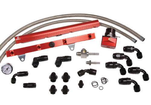 Aeromotive - 99-03 1/2 GM LS1 Corvette Fuel Rail System (14129)
