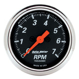 "AutoMeter - 2-1/16"" IN-DASH TACHOMETER, 0-7,000 RPM, DESIGNER BLACK (1477)"