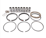 MAHLE PISTONS - Motorsports Pistons Small Block Chevy PowerPak Piston & Ring Kit,Compression Ratio @ 64cc: 10.4:1 (930200330)
