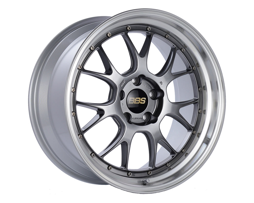 BBS - LMR 20x9 5x120 8 Diamond Black | Diamond Cut Rim (LM320DBPK)