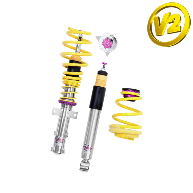 KW Coilover Kit Variant 2 - BMW 1 Series E81 E82 E87 Hatchback, Coupe, all engines, (15220039)