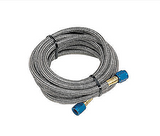 Nitrous Oxide System - NOS Stainless Steel Braided Nitrous Hose -4AN | -4AN Length: 18' (15302NOS)