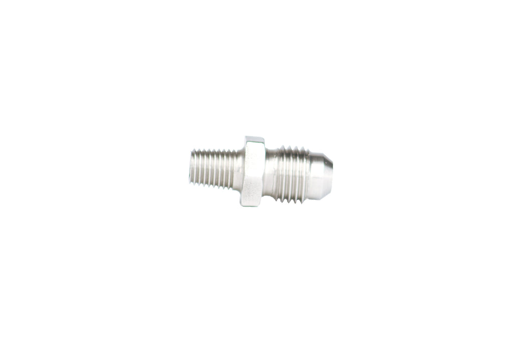 Aeromotive - 1/16′ NPT to AN-04 Male Flare SS Vacuum-Boost Fitting (15619)