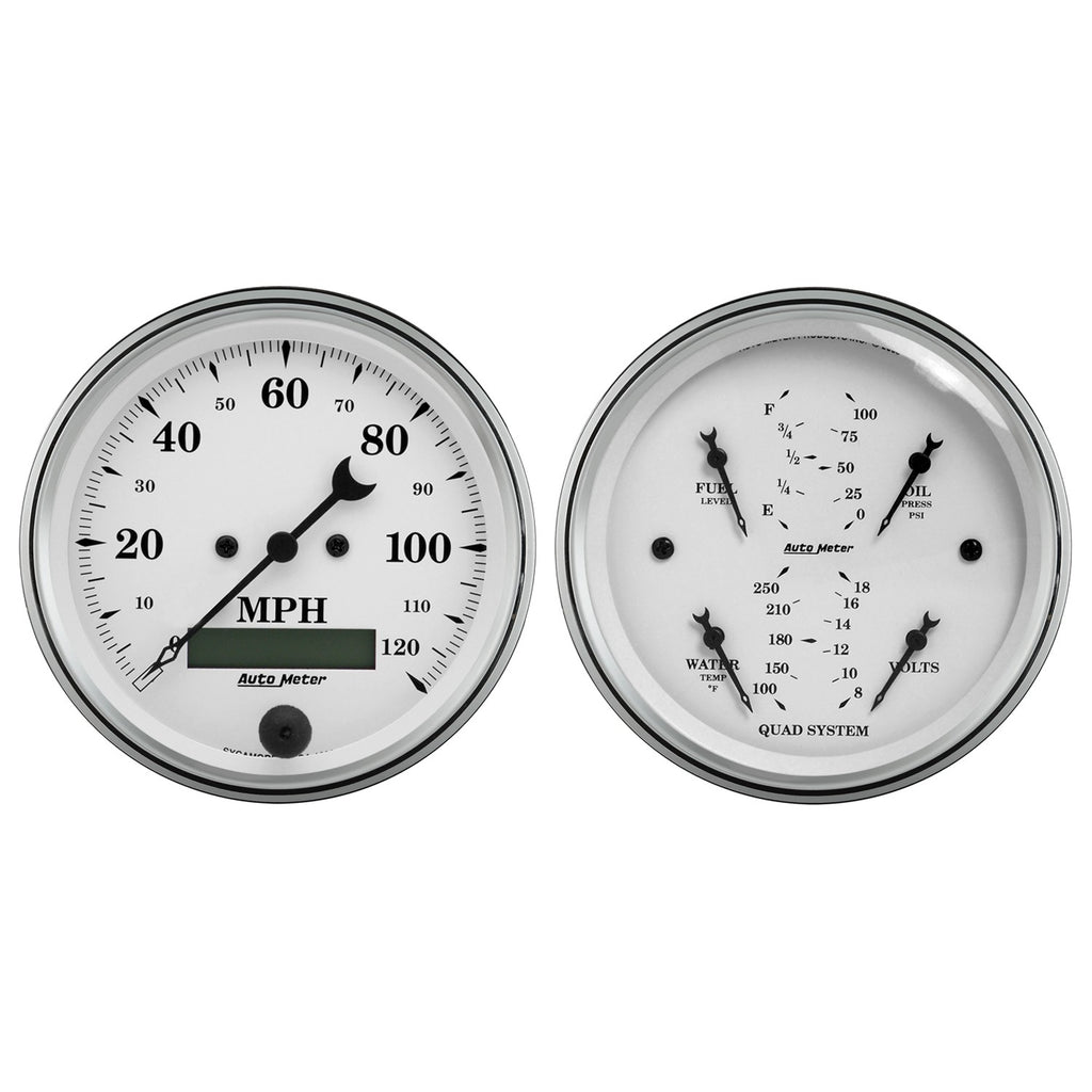 AutoMeter - 2 PC. GAUGE KIT, 3-3/8