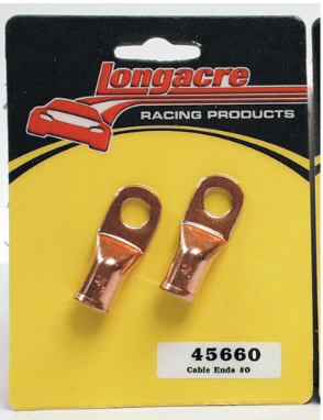 Long Acre - Racing Battery Cable Ends All Copper Material (45660)