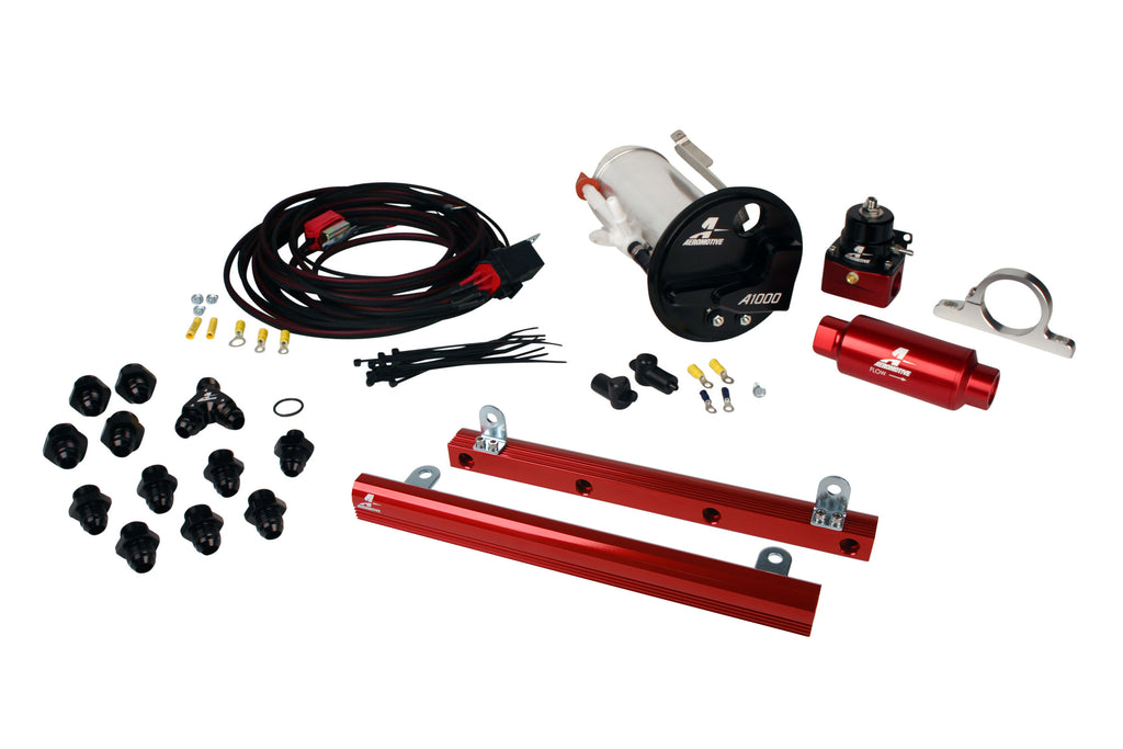Aeromotive - 07-12 Shelby GT500 Stealth A1000 Racing Fuel System with 5.4L 4-V Fuel Rails (17312)