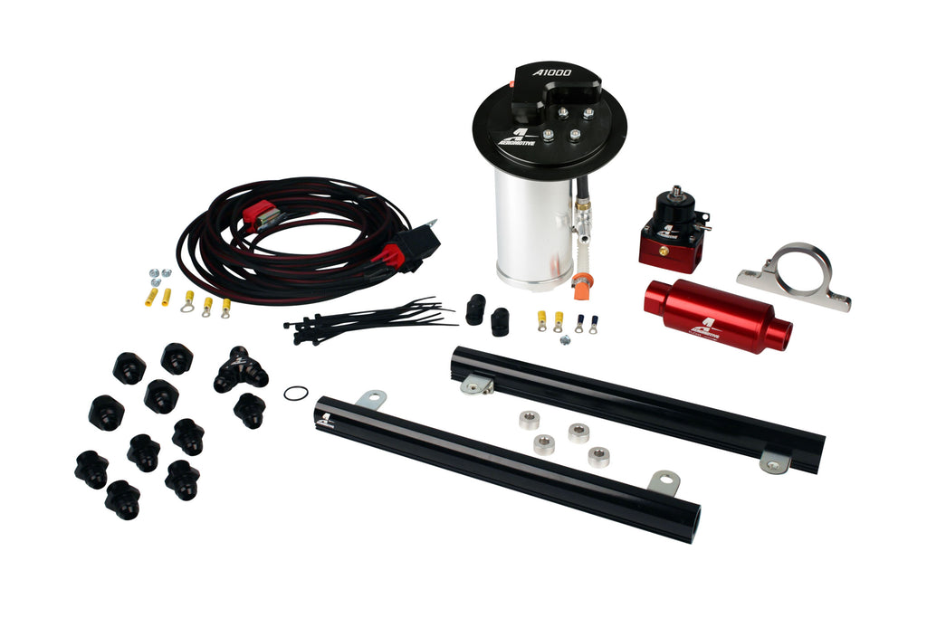 Aeromotive - 10-17 Mustang GT Stealth A1000 Racing Fuel System with 5.4L CJ Fuel Rails (17322)