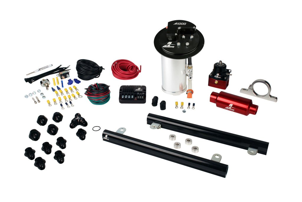 Aeromotive - 10-17 Mustang GT Stealth A1000 Street Fuel System with 5.4L CJ Fuel Rails (17323)