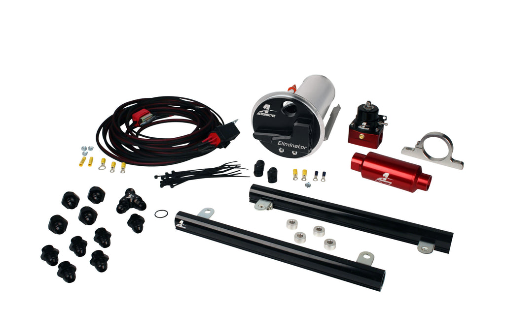 Aeromotive - 07-12 Shelby GT500 Stealth Eliminator Race System with 5.4L CJ Fuel Rails (17338)
