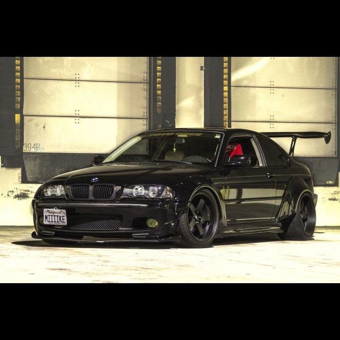 DTM Fiberwerkz - BMW E46 M3 GTR-S V1 Rivet On Fenders