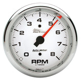 "AutoMeter - 3-3/8"" TACHOMETER, 0-8,000 RPM, WHITE, PRO-CYCLE (19301)"