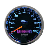 "AutoMeter - 2-5/8"" SPEEDOMETER, 0-120 MPH, ELECTRIC, BLACK, PRO-CYCLE (19340)"