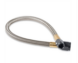 Nitrous Oxide System - NOS Stainless Steel PTFE Braided Hose with -4 AN to -4 AN Black Hose Ends (15220BNOS)